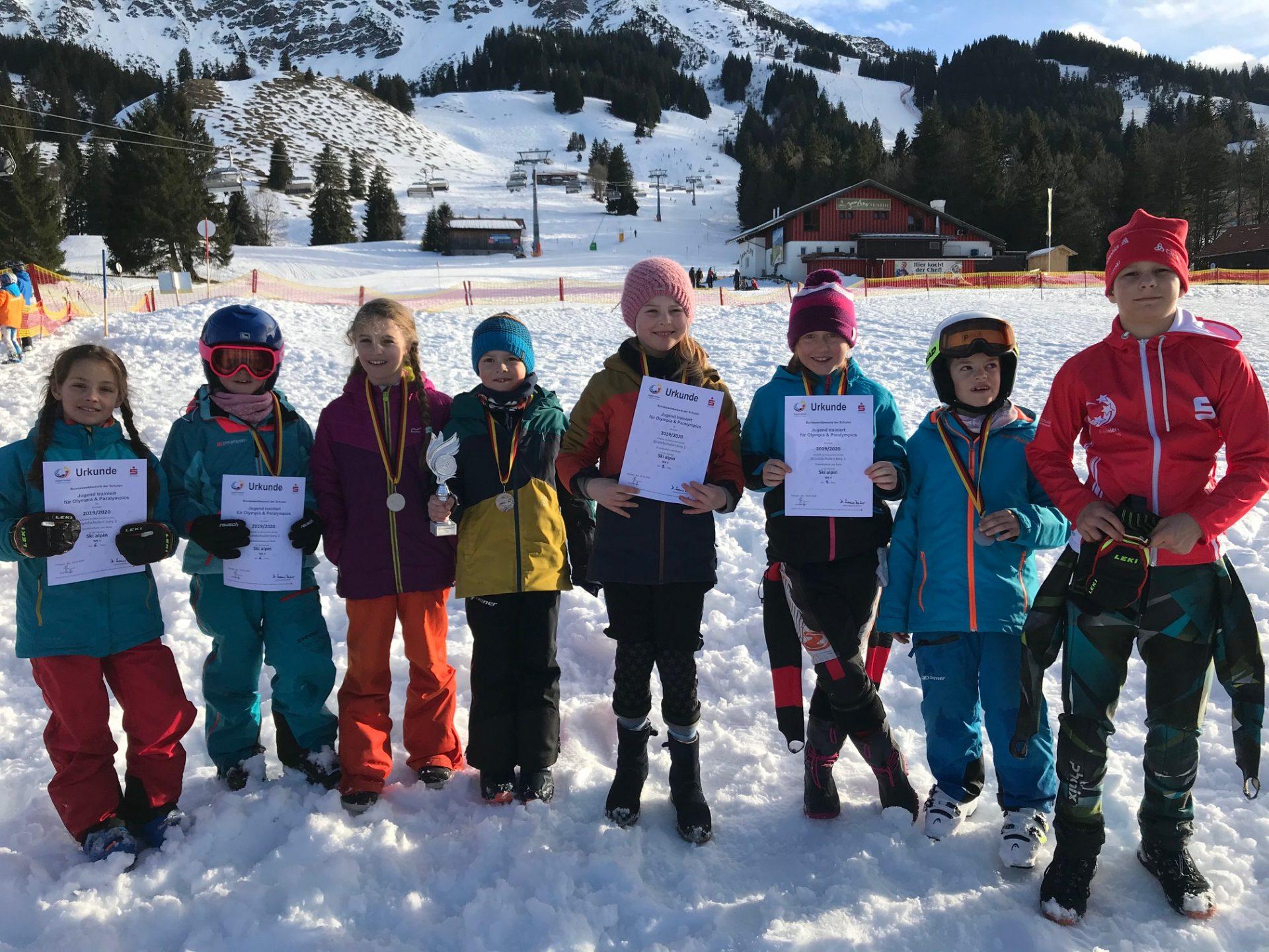 Jugend trainiert für Olympia Alpin 2020