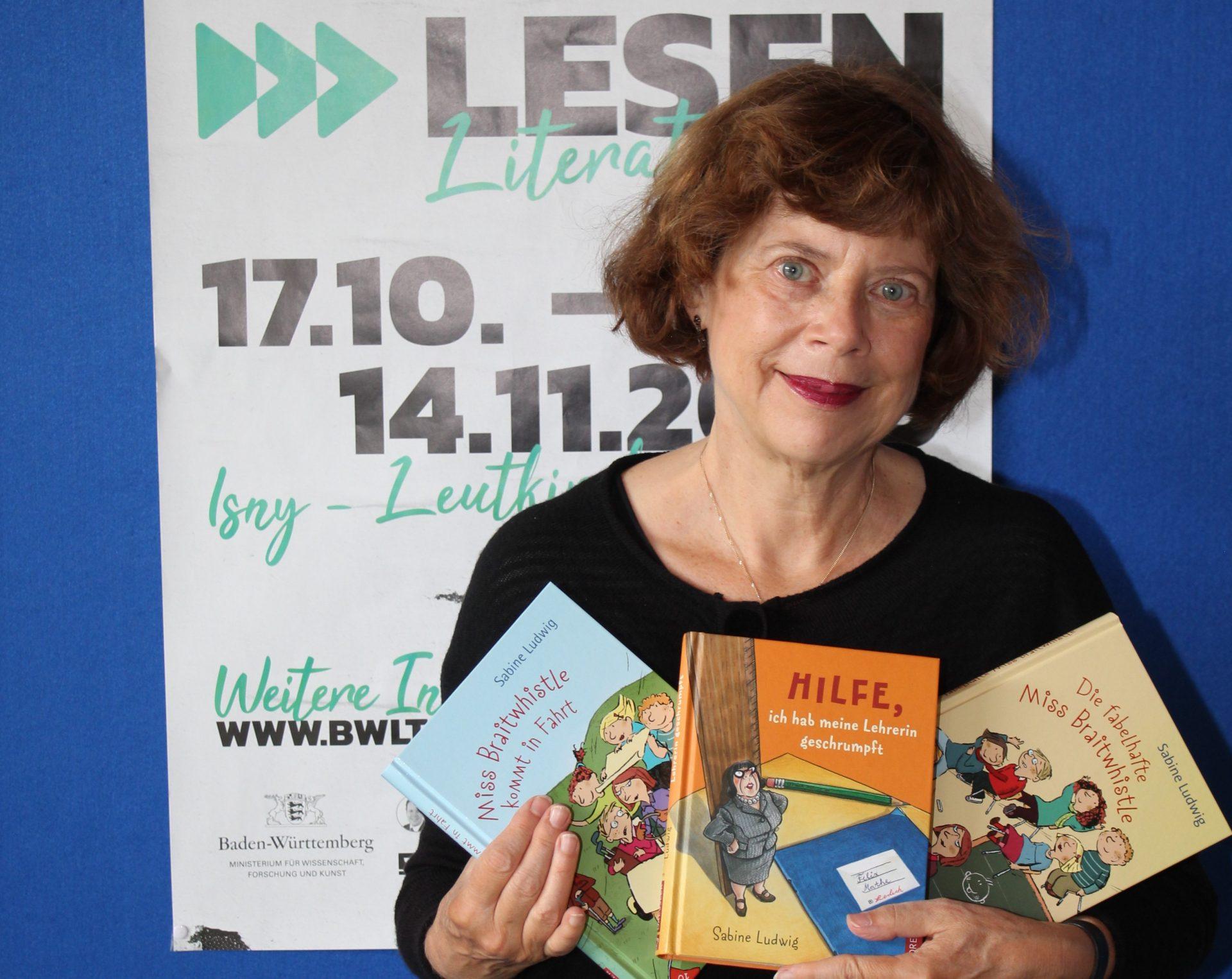 Lesungen mit Bestseller-Autorin Sabine Ludwig
