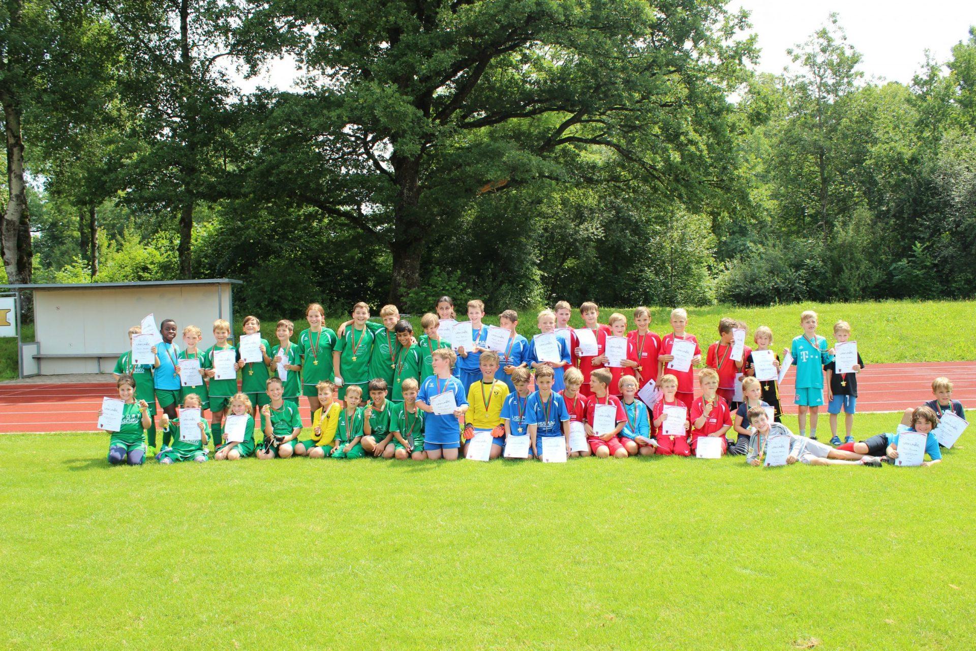 Fußballturnier der Isnyer Grundschulen